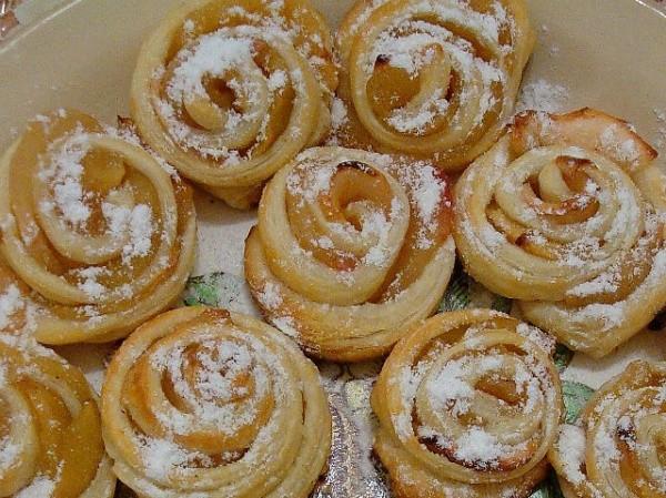 Печенье «сладкие розы»