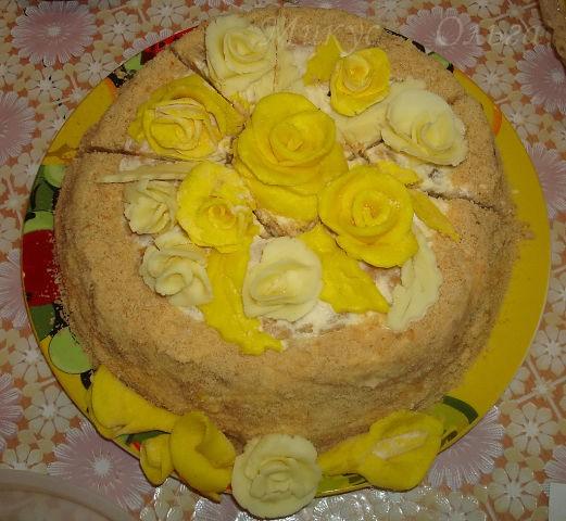 Торт Елизавета быстрого приготовления