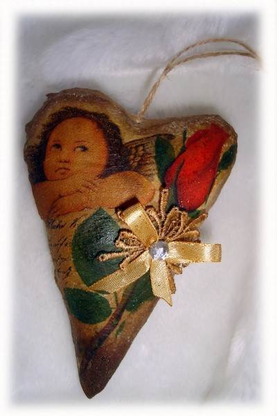Валентинка с запахом шоколада - Ты - Ангел мой