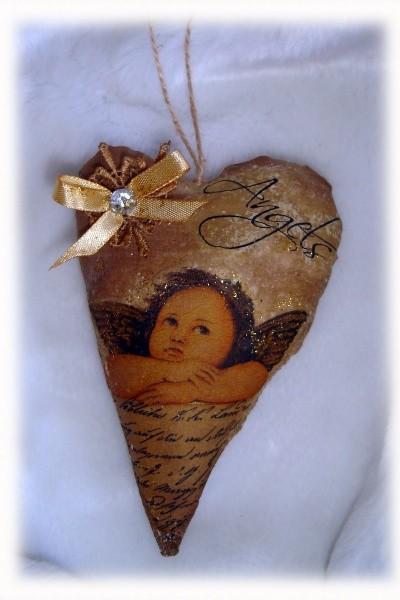 Валентинка с запахом шоколада - Ты - мой ангел