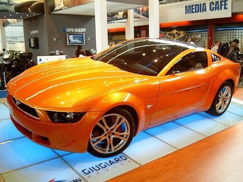 История Форда Мустанг (Ford Mustang)