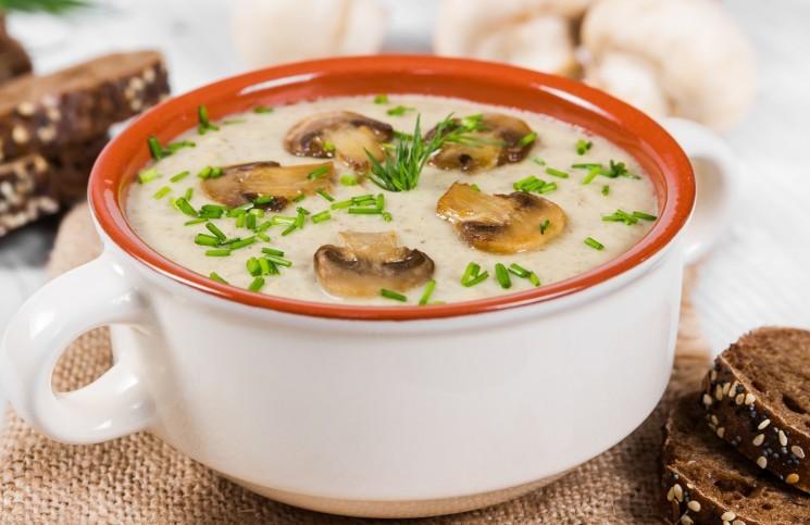 4 простых рецепта грибного супа