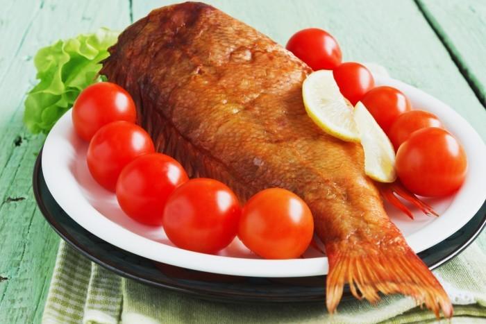 Копченые морепродукты