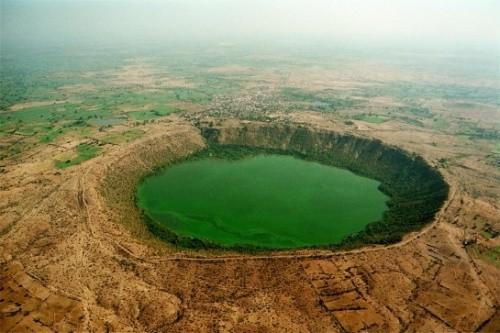 Озеро Лонар, Индия
