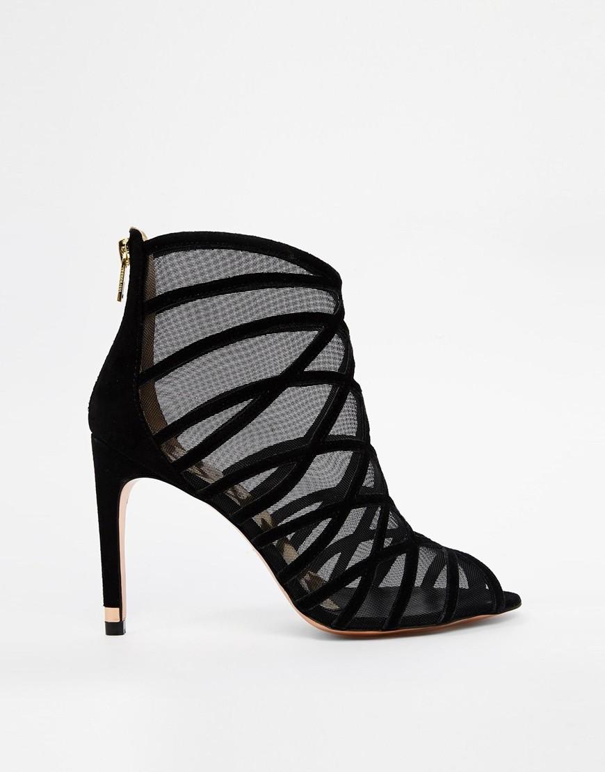 Обувь с решетчатой отделкой 6