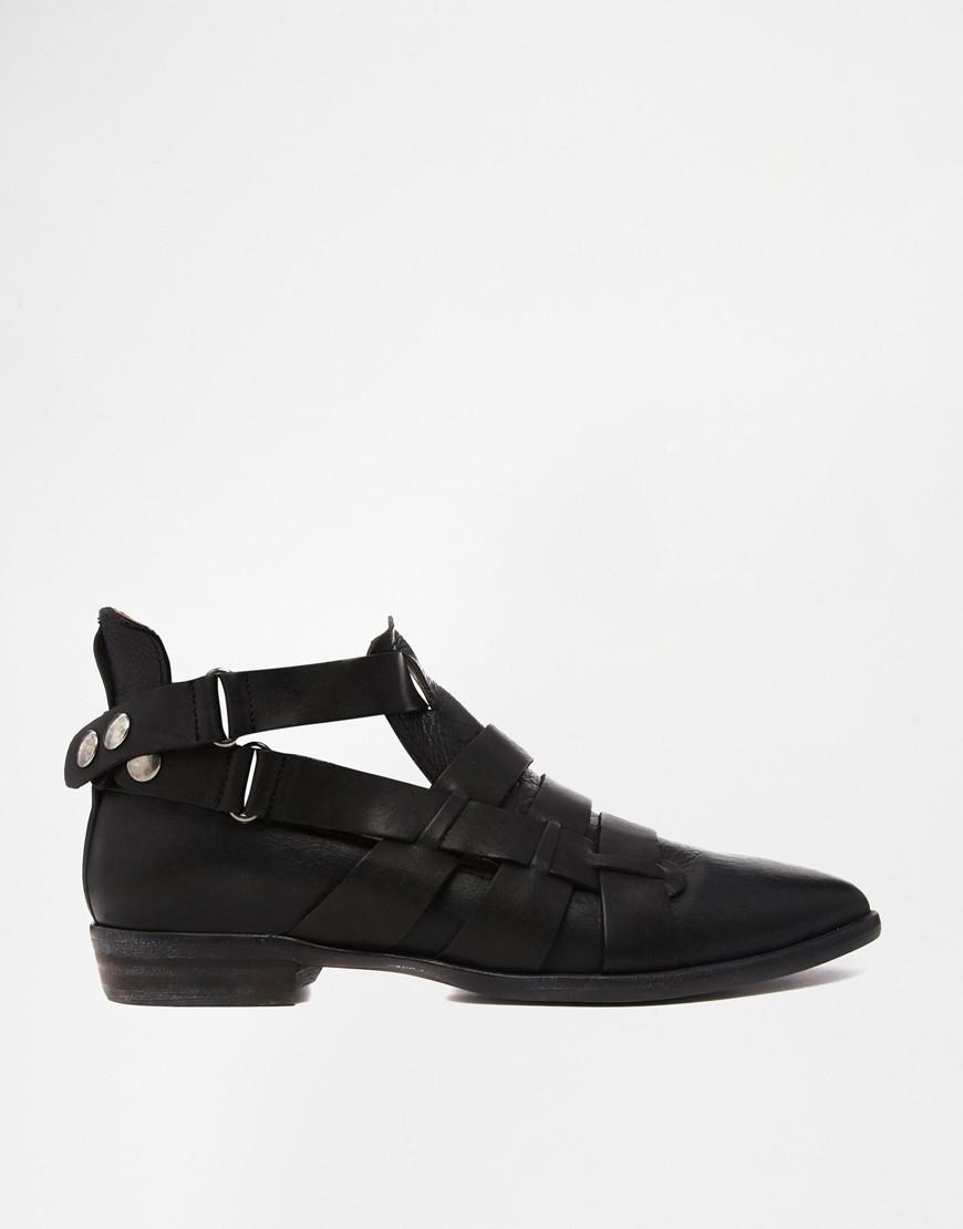 Обувь с решетчатой отделкой 7