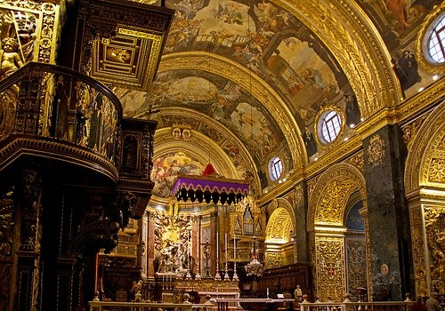 Собор Святого Иоанна - 5 удивительных достопримечательностей Мальты