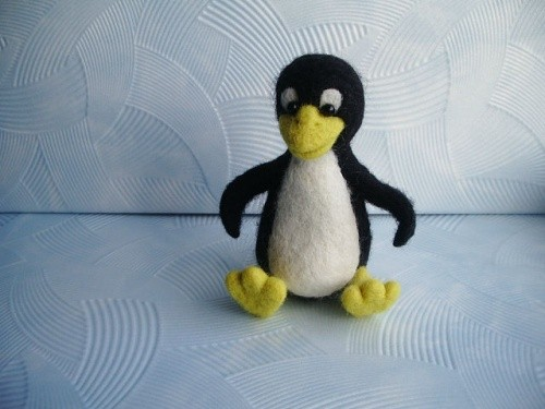 Пингвиненок Tux