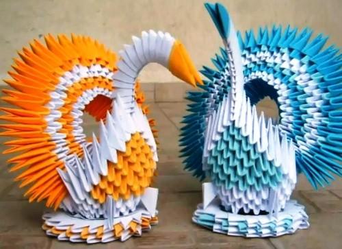 Коллекция 25 Моделей из Оригами