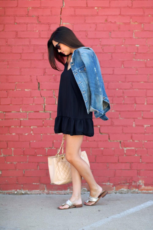 Маленькое черное платье в гардеробе fashion-блогеров 2
