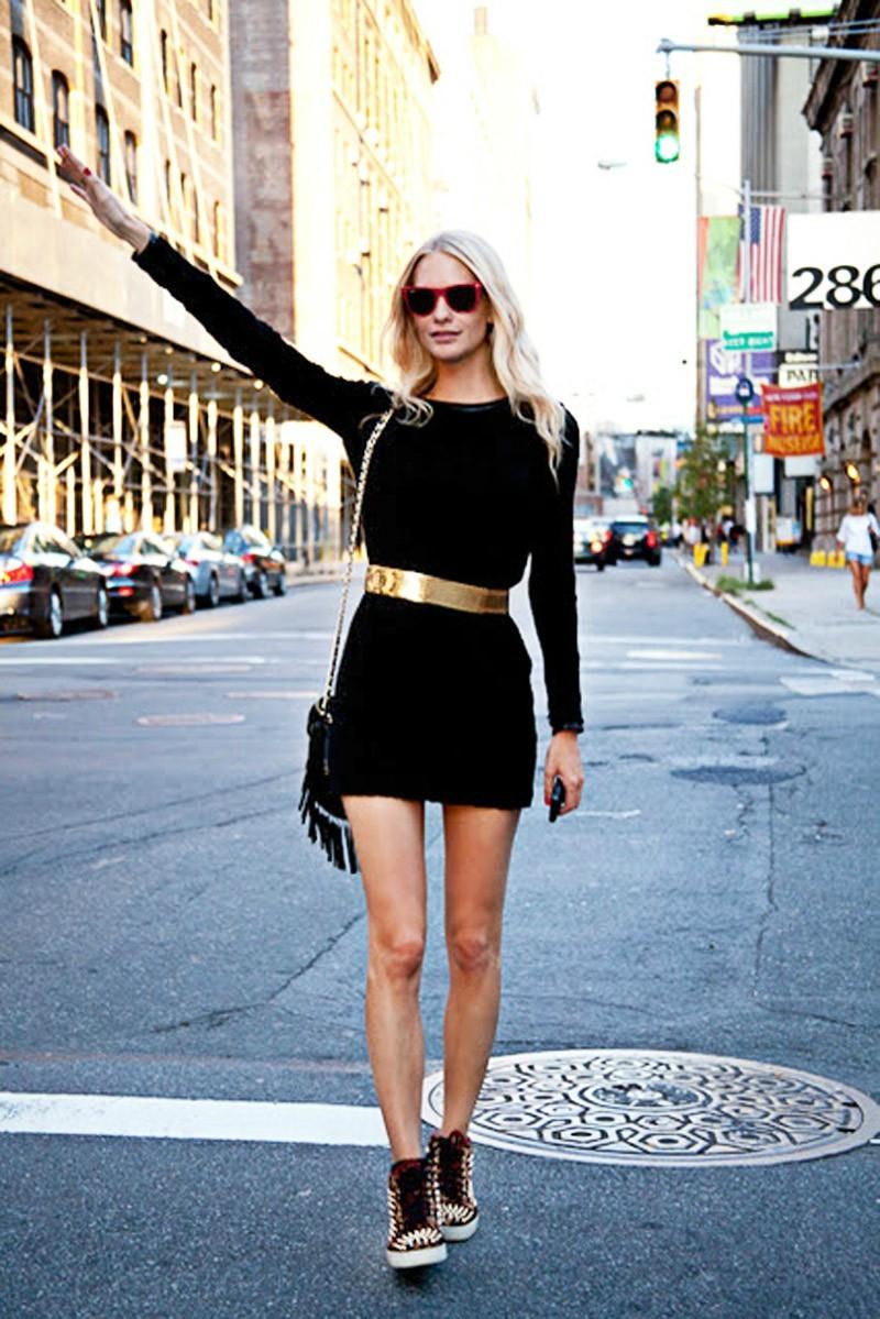 Маленькое черное платье в гардеробе fashion-блогеров 3