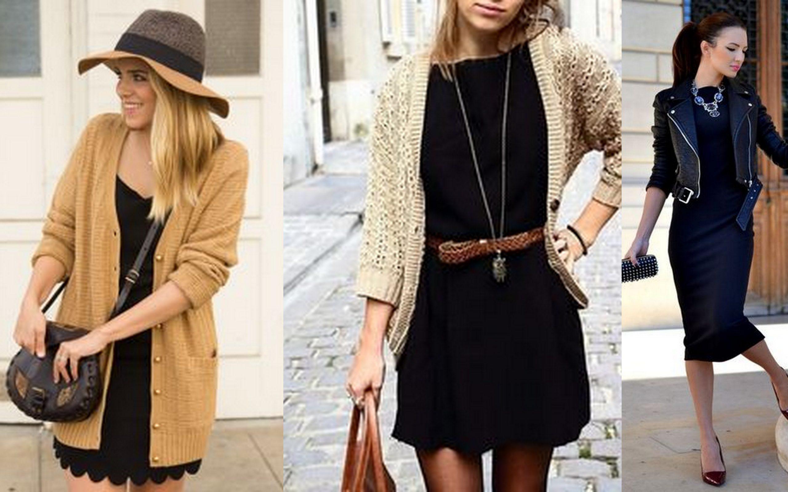 Маленькое черное платье в гардеробе fashion-блогеров 4