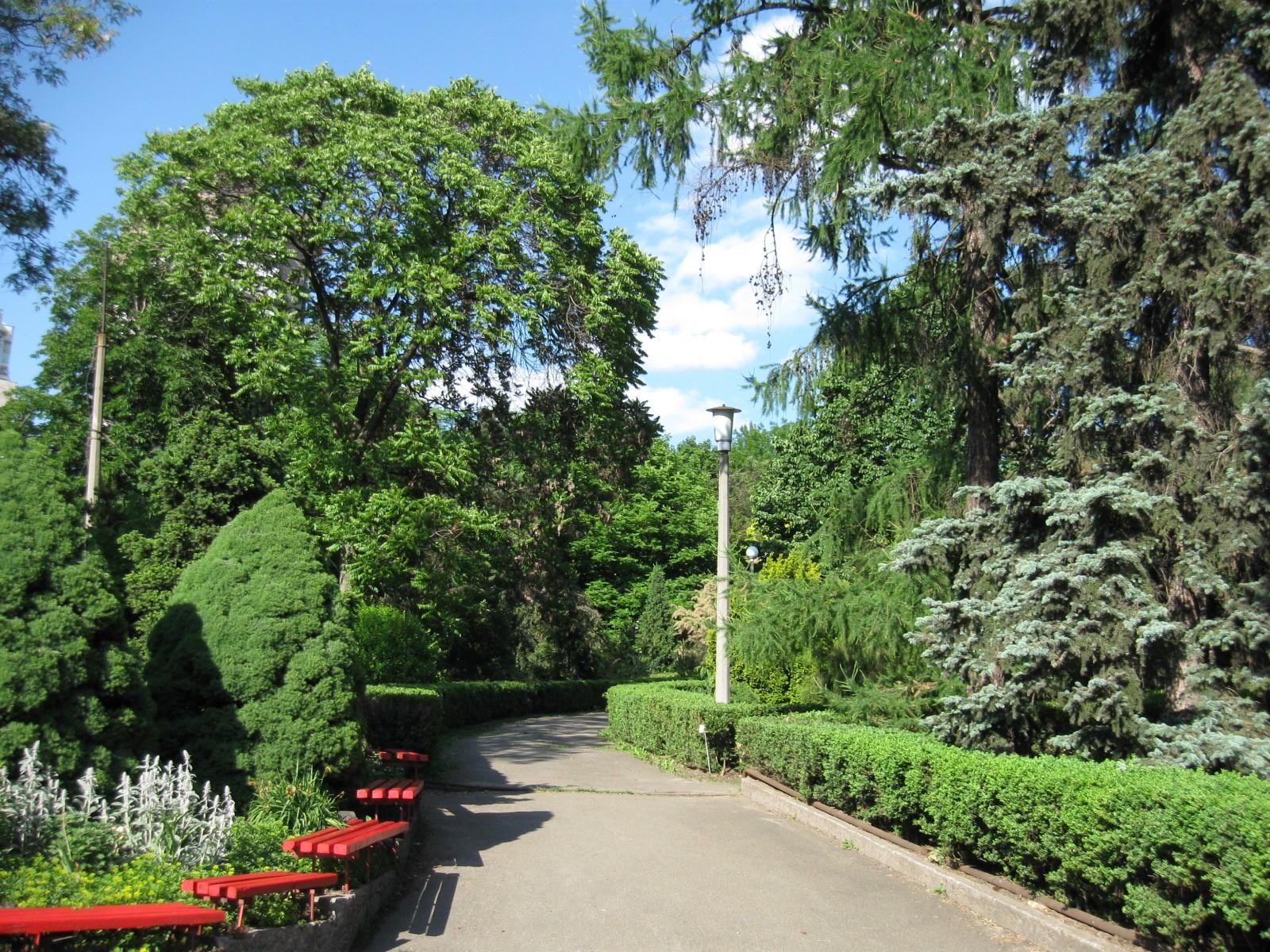 Ботанический сад имени академика Александра Фомина