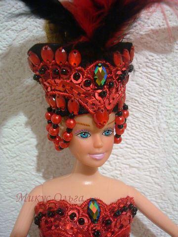 Наряд куклы «Королева Вампиров»