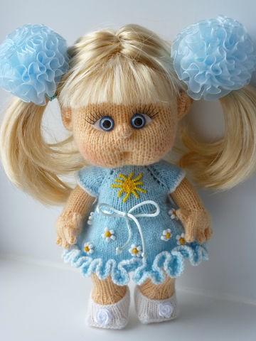 Вязаные куклы своими руками 982