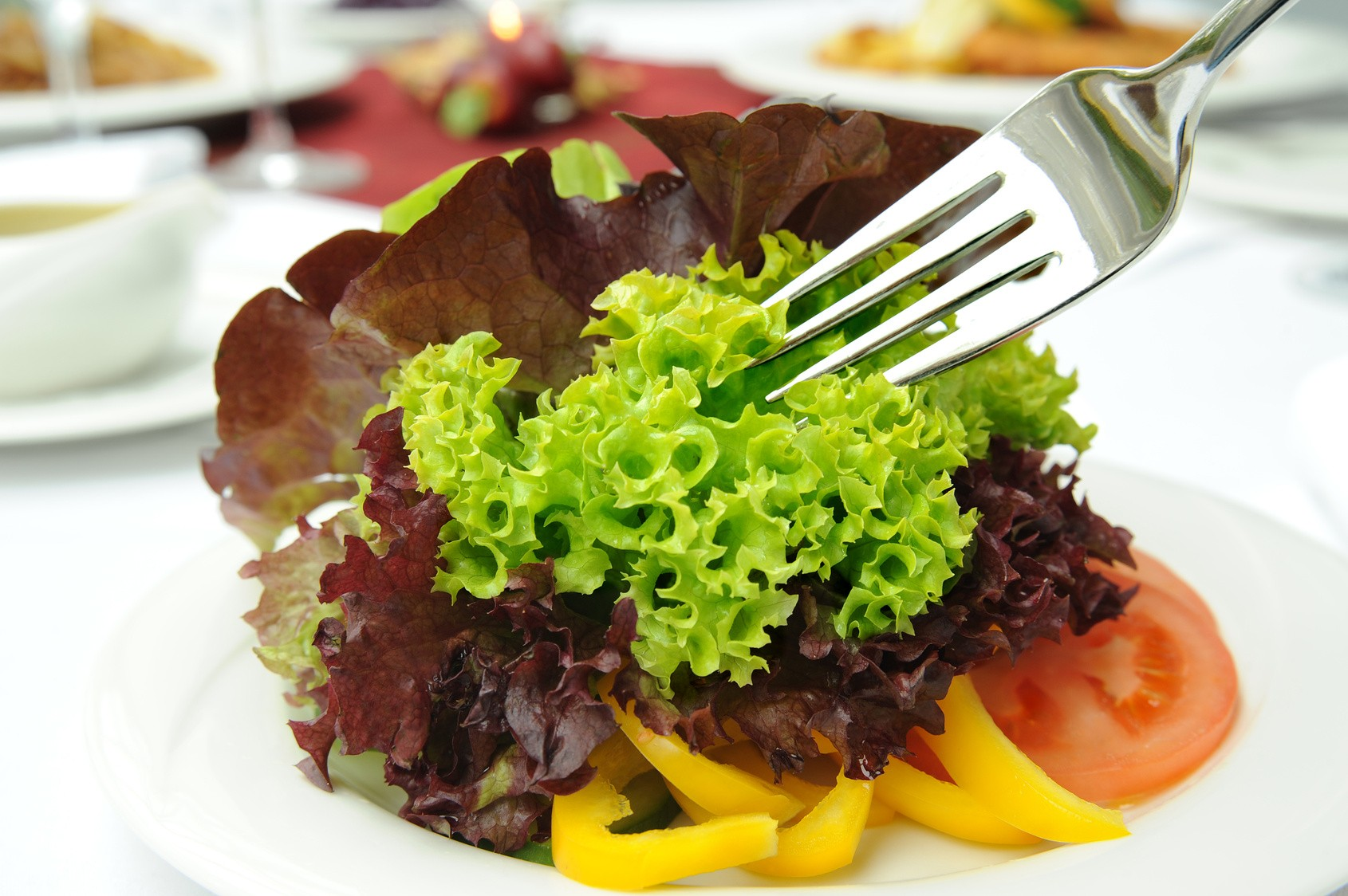 Листовый салат