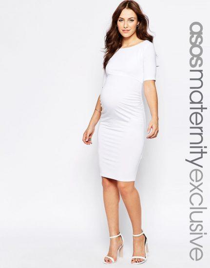 облегающие платья для беременных