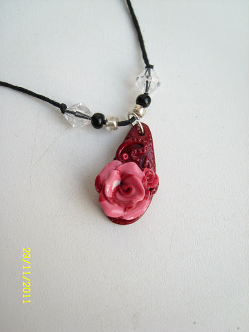 Подвеска в виде украшений «Роза мечтаний»