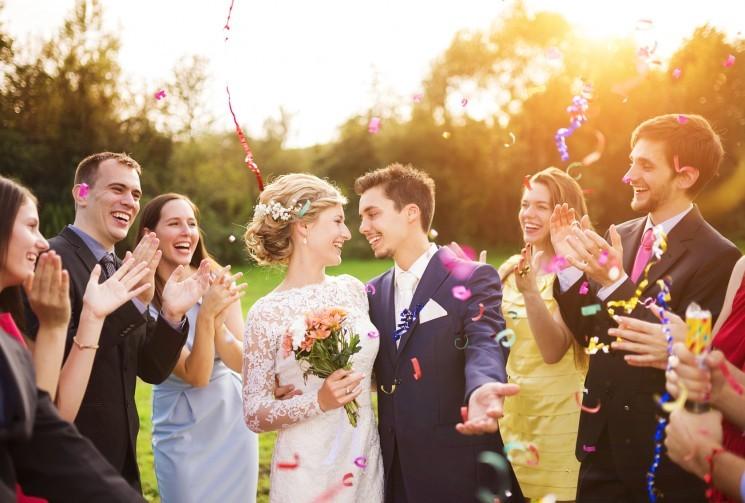7 идей для красивого выхода молодоженов