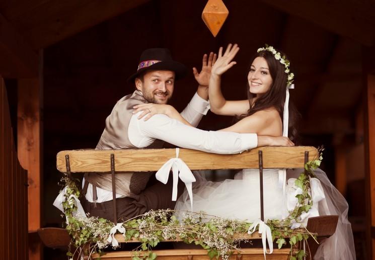 Свадьба в стиле кантри: веселое торжество в ковбойском облике