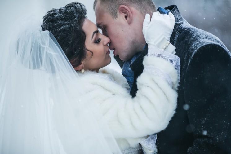9 замечательных идей для зимней свадьбы
