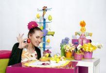 Яйцо Пасхальное в Подарок по Рукодельной Технике Артишок