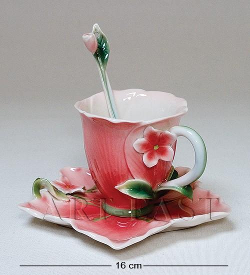 Чайные пары и вазы из коллекции Pavone FM 1