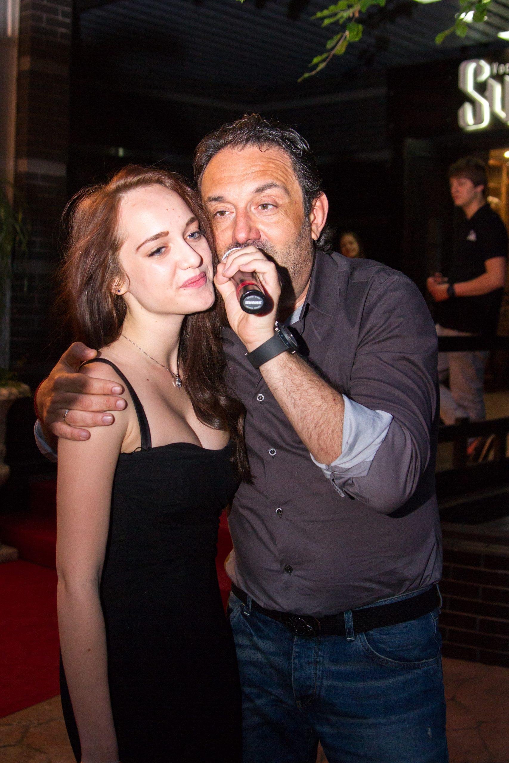 Гарик Кричевский с дочерью
