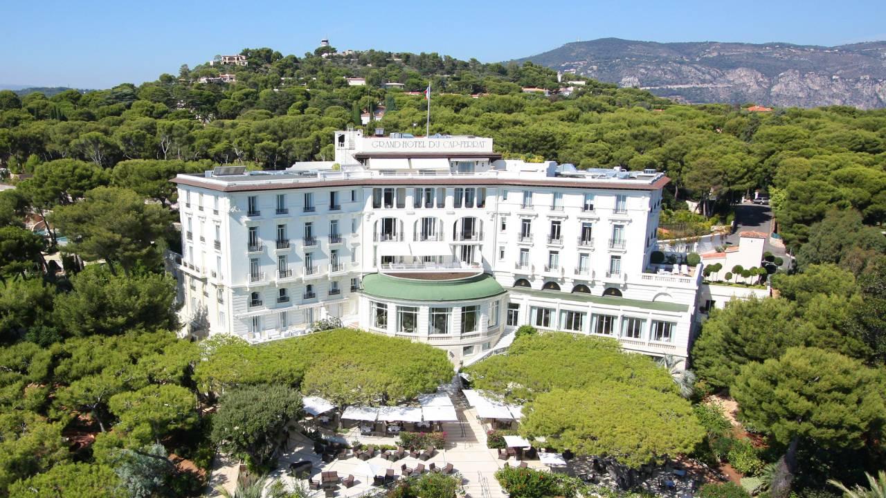 Grand-Hotel du Cap-Ferrat (Лазурный берег, Франция)