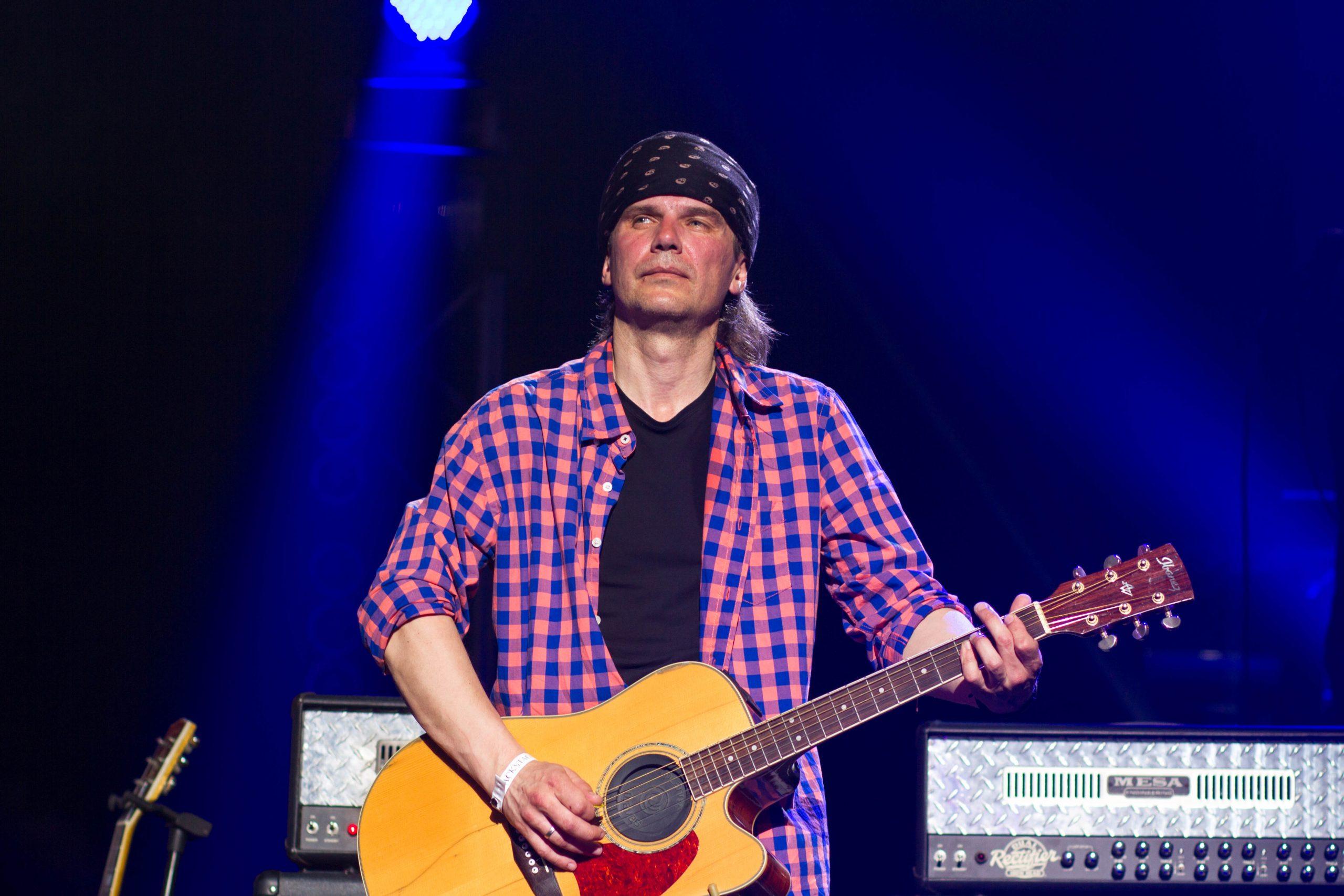 Алексей Зволинский на концерте памяти Андрея Кузьменко (Скрябин)