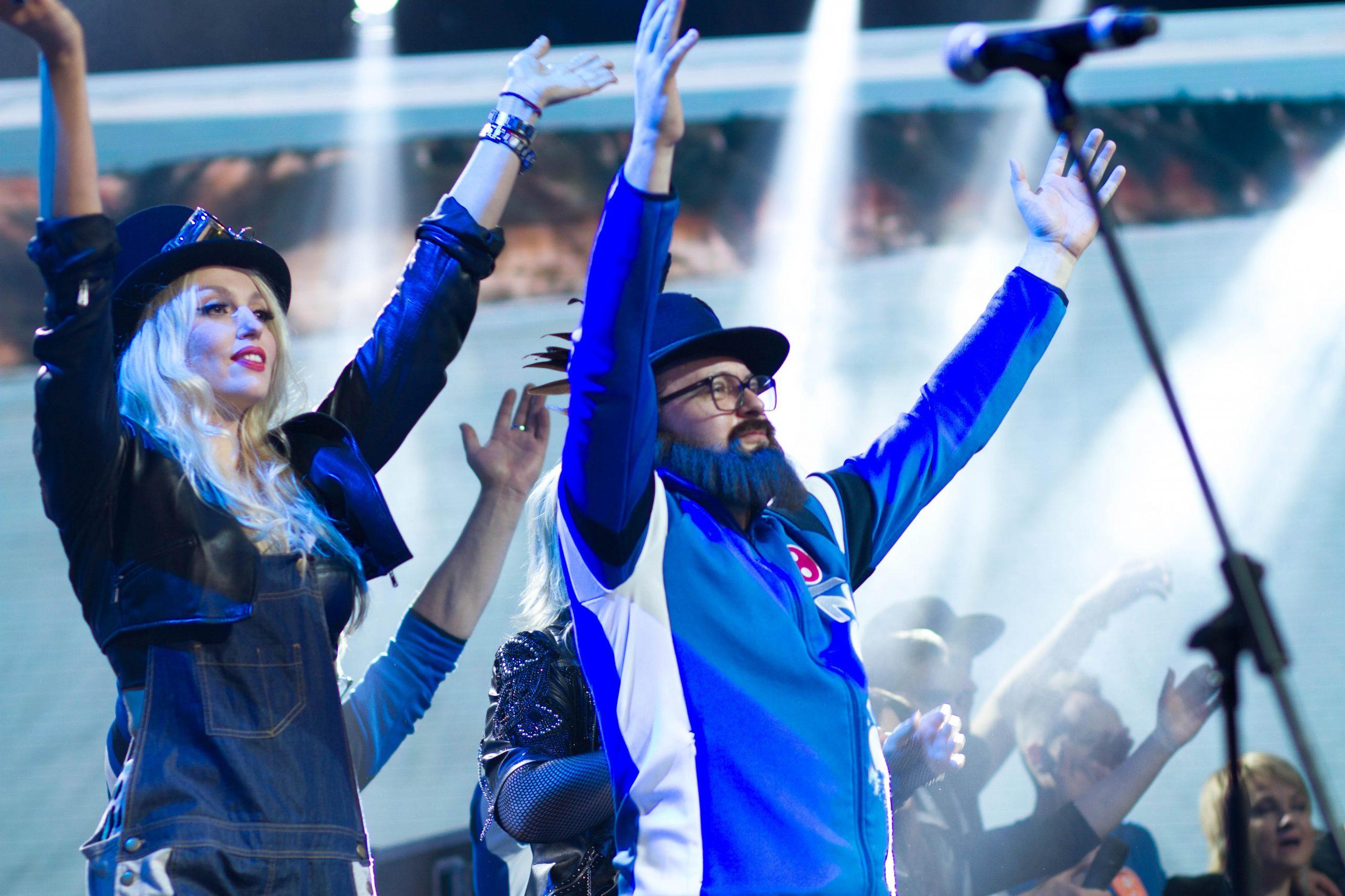 Оля Полякова и DZIDZIO на концерте памяти Андрея Кузьменко (Скрябин)