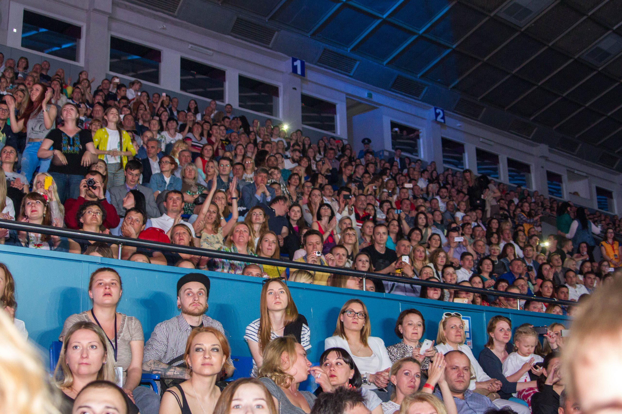 Зрители концерта памяти Андрею Кузьменко в Киеве 3