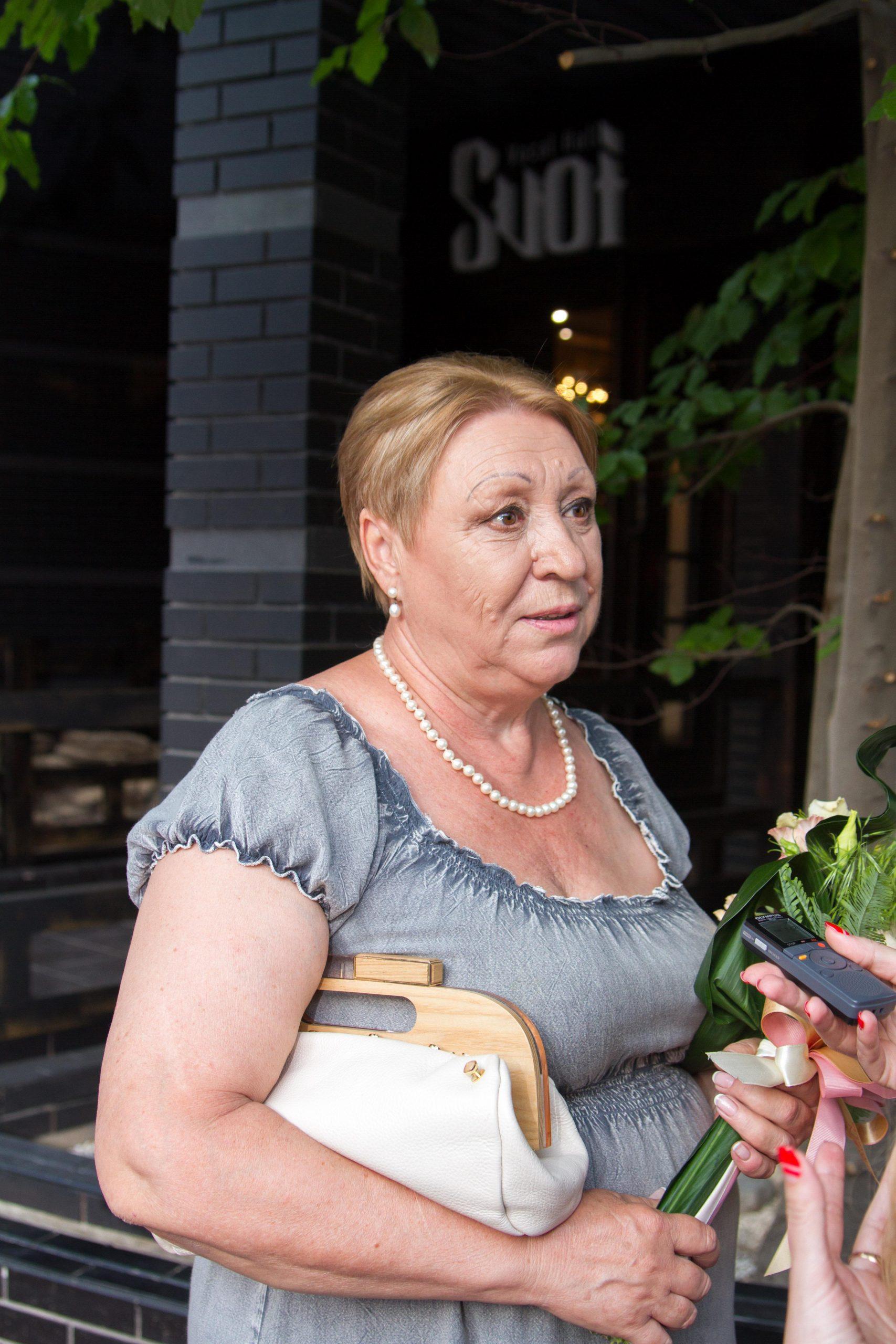 Тамара Васильевна, мама Алены Винницкой