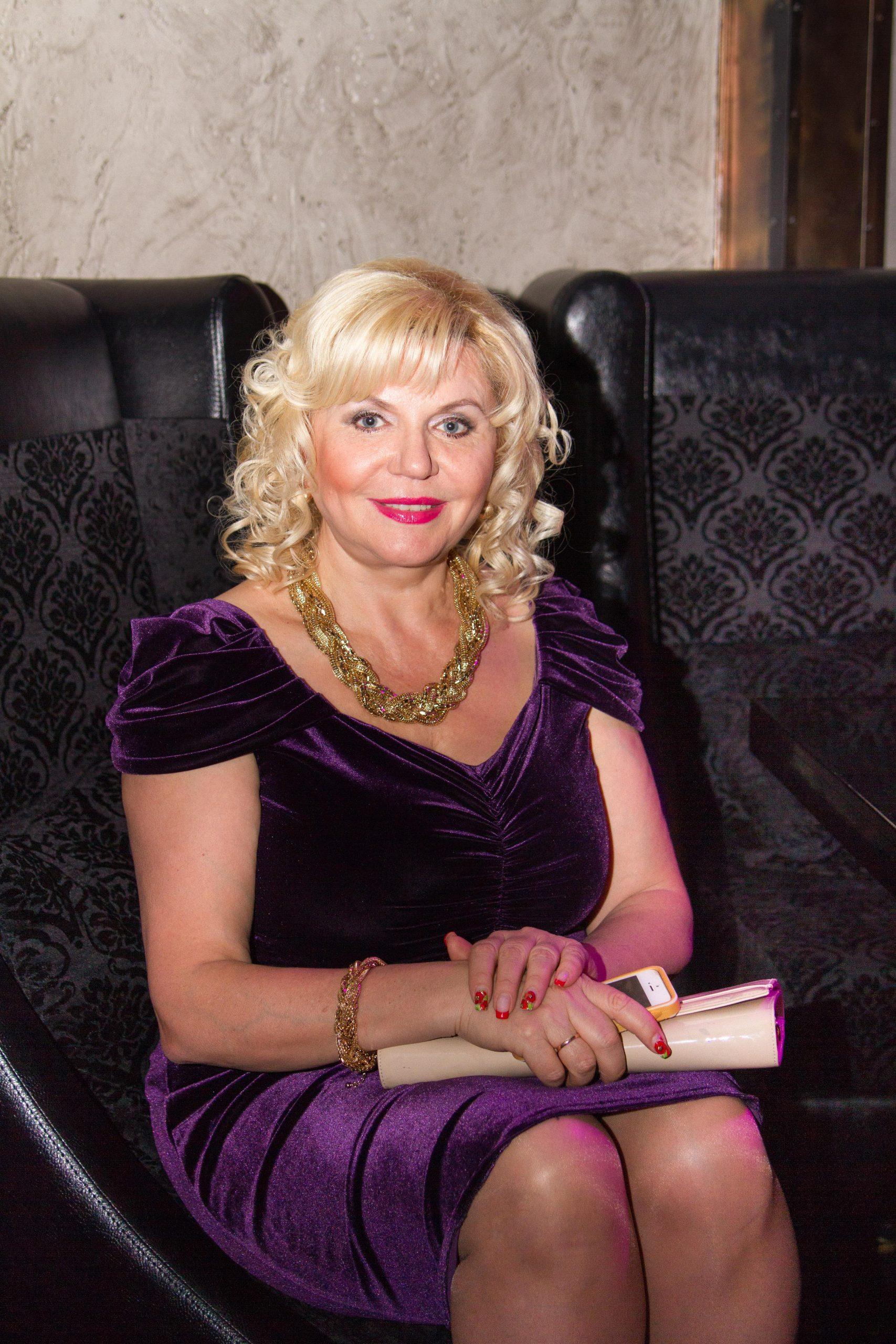 Анна Андреевна - мама Алины Гросу