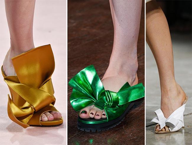Обувь с бантиками - тренд 2015