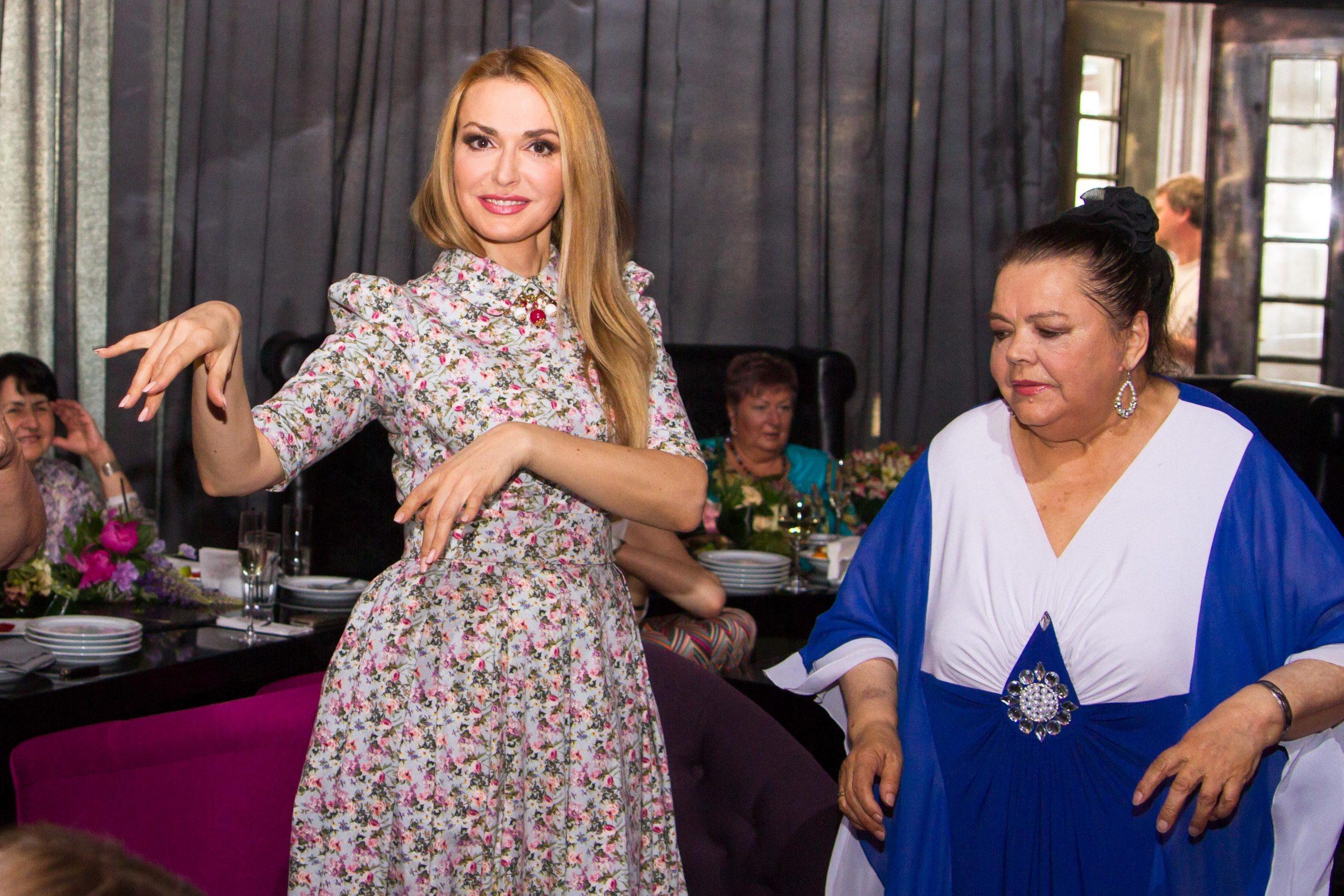 Ольга Сумская с мамой Анной Ивановной