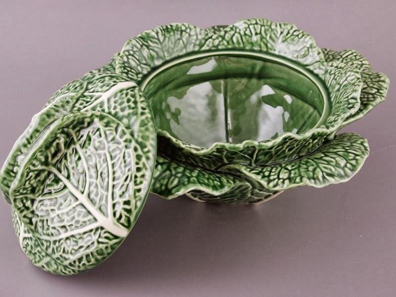 Bordallo Pinheiro - серия столовой посуды Cabbage (Капуста) 5