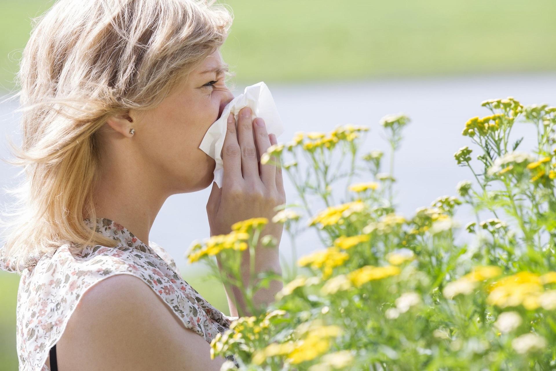 Как избавиться от сезонной аллергии на пыльцу