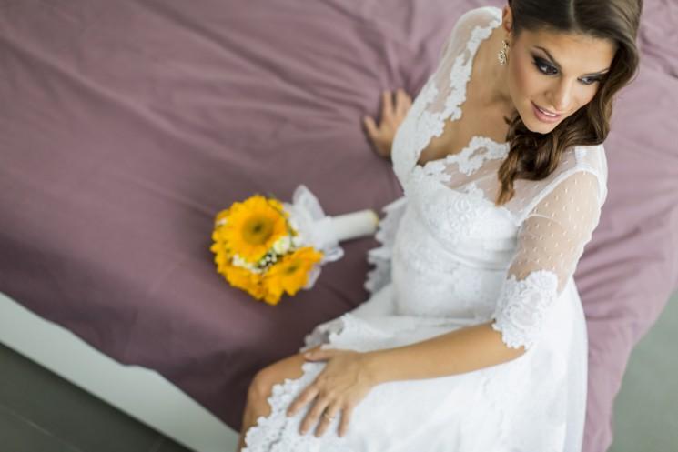 7 советов, как выбрать свадебное платье для беременной невесты