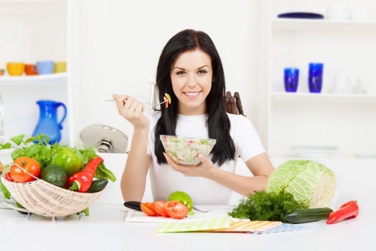 5 этапов салатной диеты