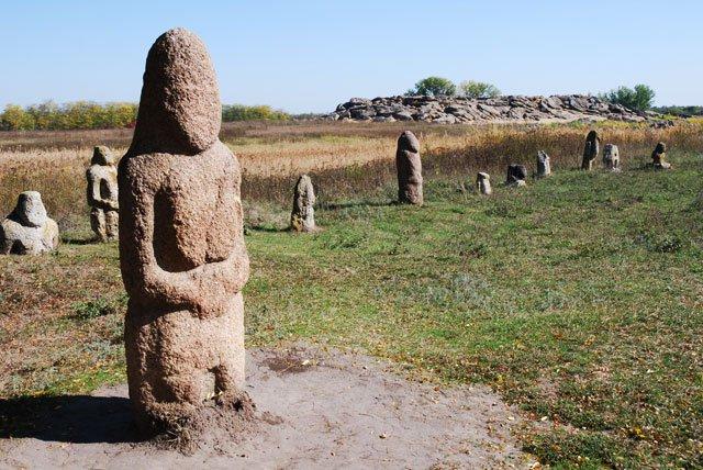 Каменная могила, Запорожская область