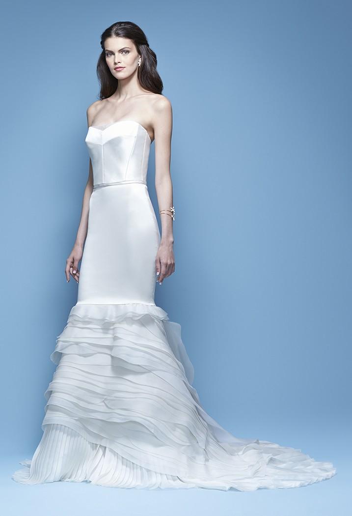 Свадебное платье Carolina Herrera - весна 2016 2