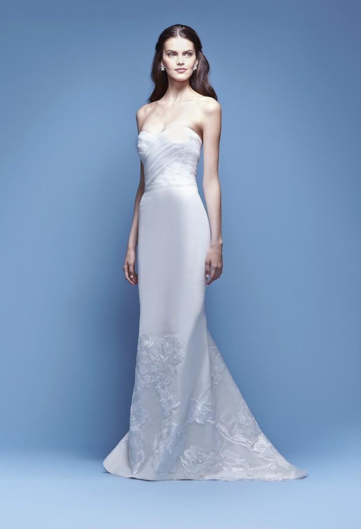 Свадебное платье Carolina Herrera - весна 2016 1