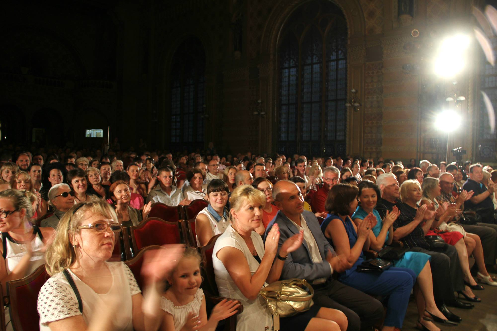 Зрители концерта Майкла Гуттмана на Odessa Classics 2015