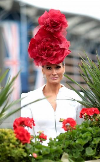 цветочные шляпки Royal Ascot