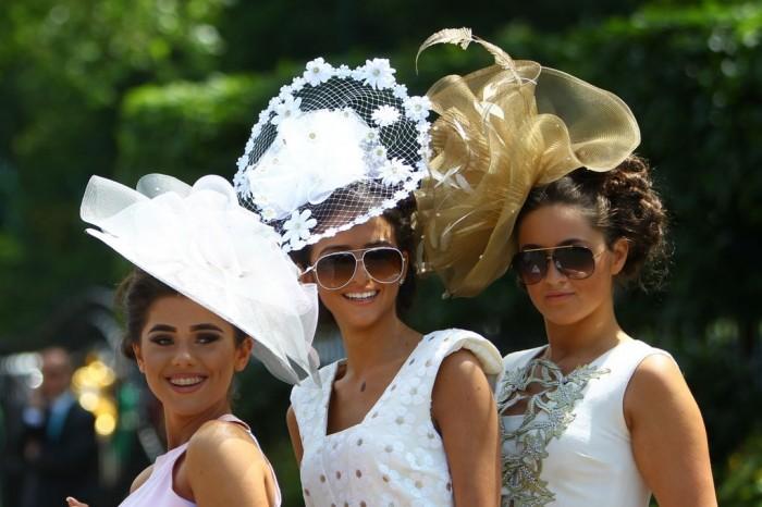 10 красивых шляпок на скачках Royal Ascot 2015