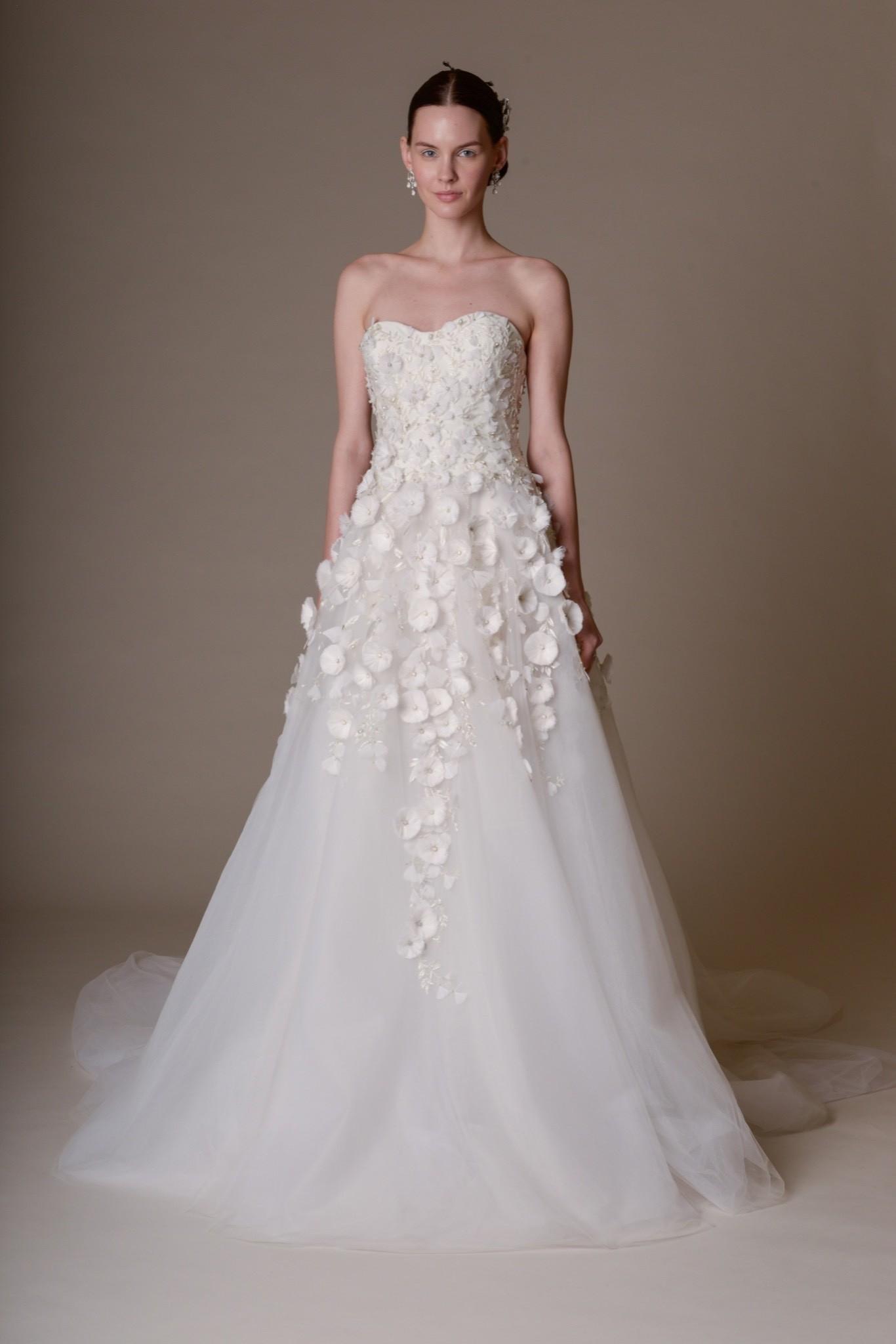 Свадебное платье Marchesa - весна 2016 3