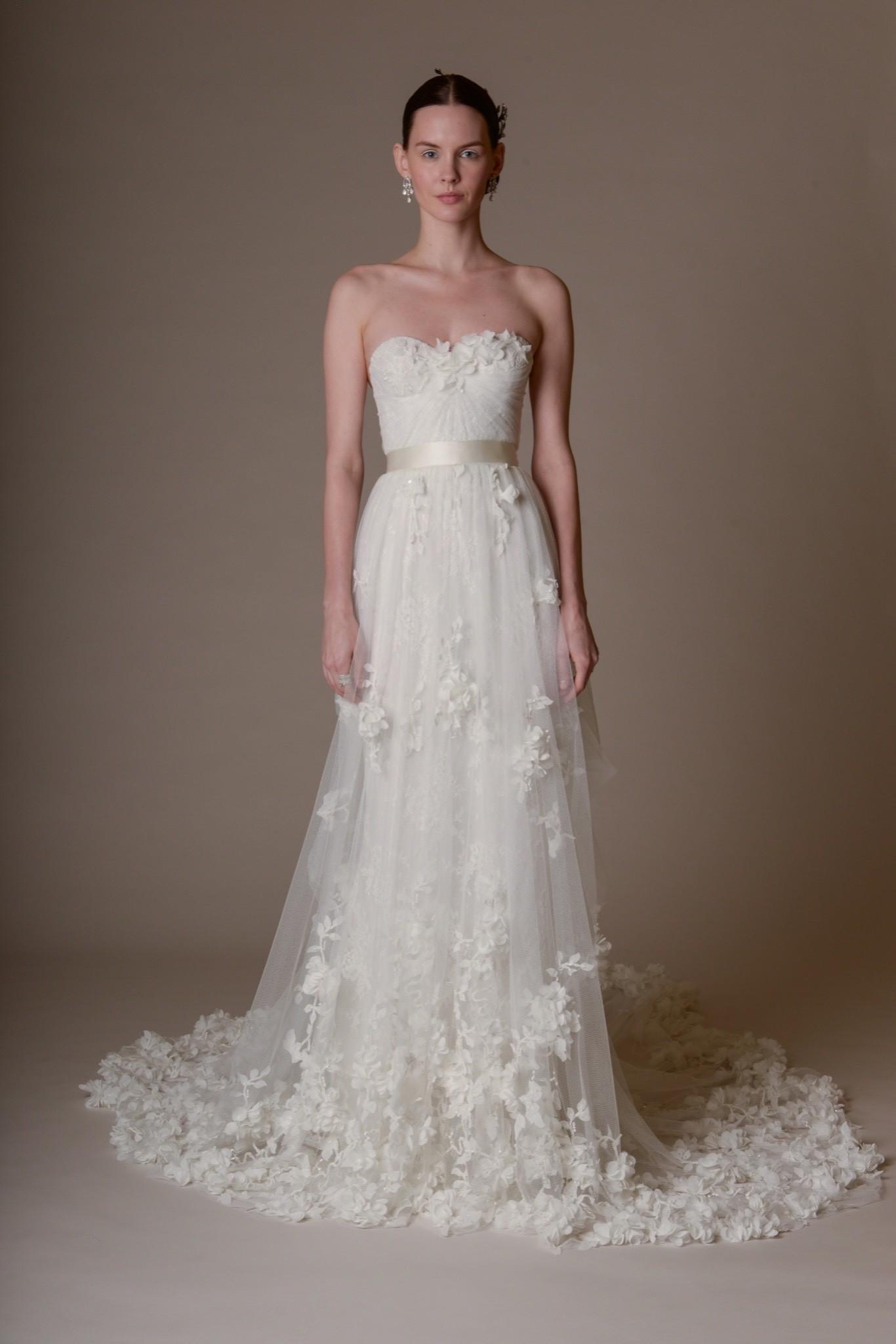 Свадебное платье Marchesa - весна 2016 4