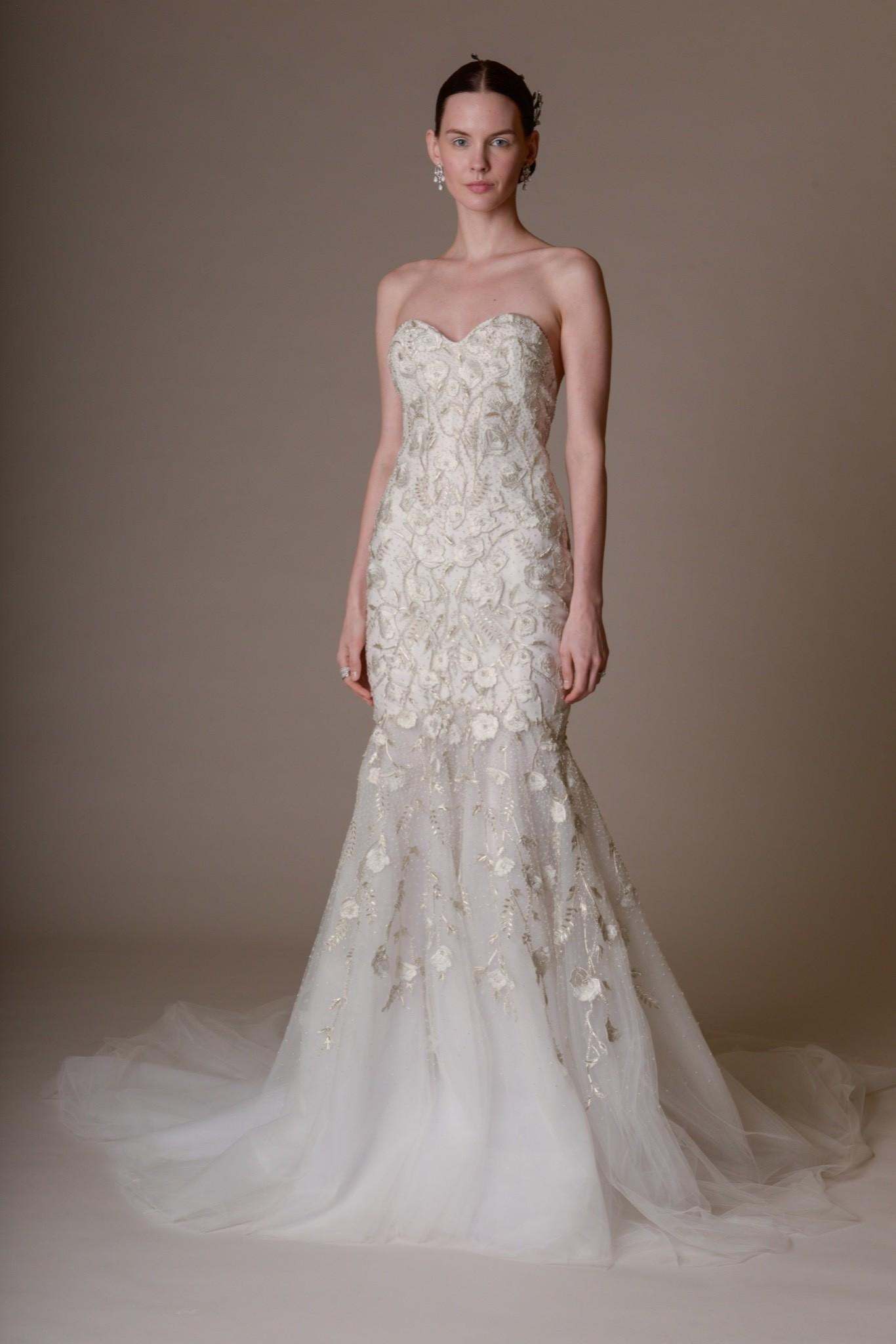 Свадебное платье Marchesa - весна 2016 1
