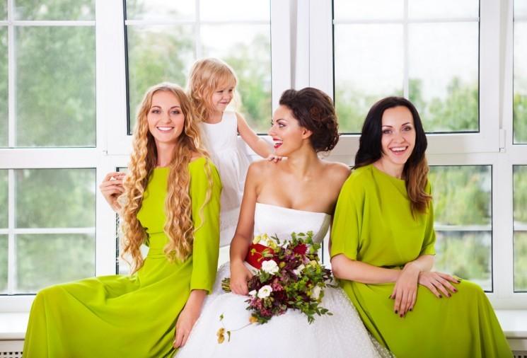 Платье дружки: как не затмить невесту